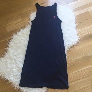 Ralph Lauren navy blue sun dress